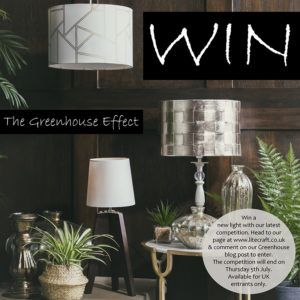 Win a New Light with Litecraft's Greenhouse Lighting competition