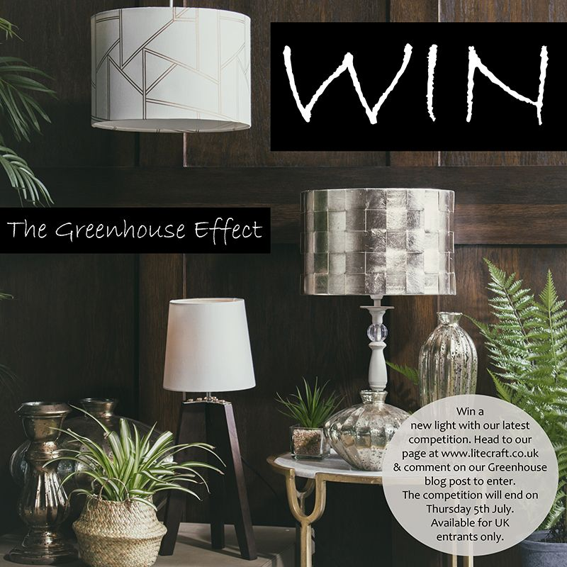 Win a New Litecraft Light with our Greenhouse Lighting competition