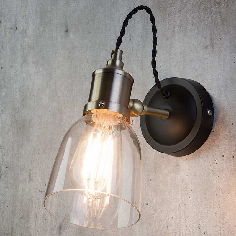 New Industrial Diner Wall Lights - Your Home Magazine Sept 2018 Issue