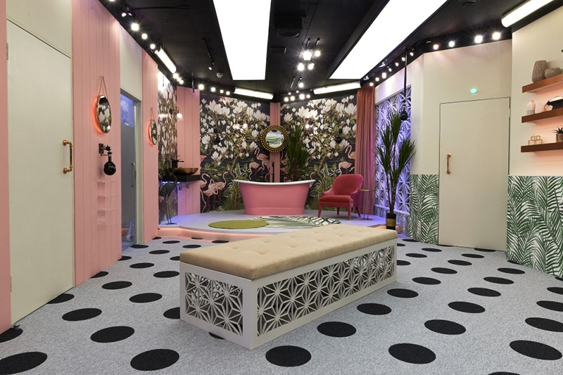 Industrial Wall lights Celebrity Big Brother House 2018