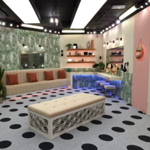 Our Industrial Diner Wall lights are in the Celebrity Big Brother House 2018!!