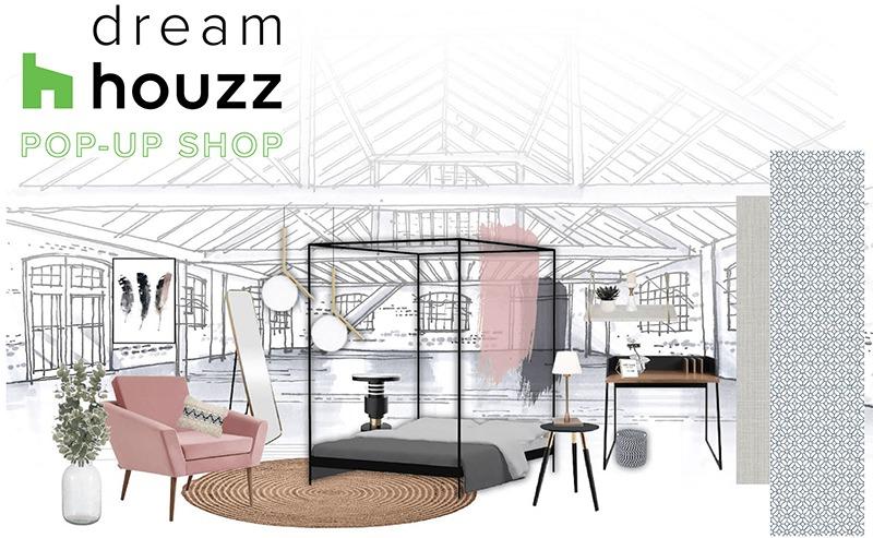 Houzz's DreamHouzz Pop Up store 2018
