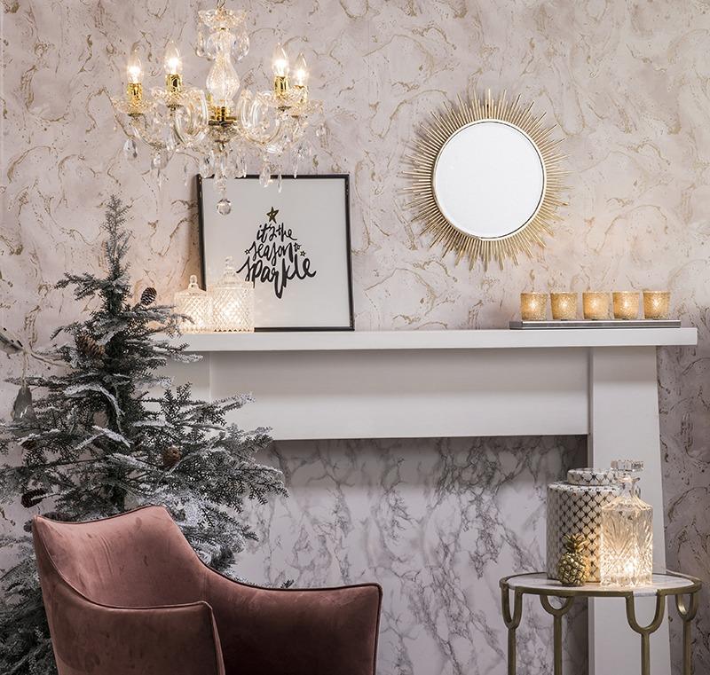 Christmas Lighting Edit : Winter Blush