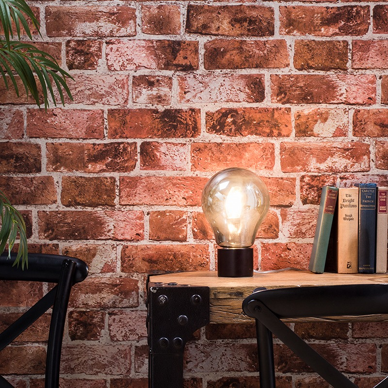 Get the Refined Industrial Look - Oslo Table Lamp